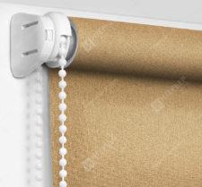 Рулонные шторы Мини - Металлик светло-коричневый