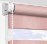 Рулонные шторы День-Ночь - Латина темно-розовый 1811