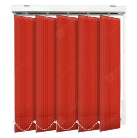 Вертикальные тканевые жалюзи Лайн красный
