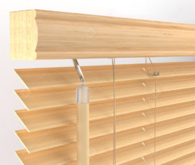 Бамбуковые жалюзи 25 мм, цвет 201