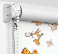 Рулонные шторы Мини - Зоопарк Блэкаут
