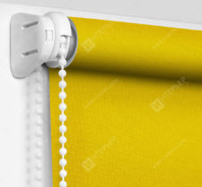 Рулонные шторы Мини - Карина желтый