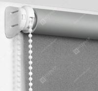 Рулонные шторы Мини - Респект блэкаут серый